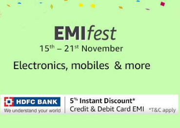 Extra 5% Off Via HDFC Bank Cards