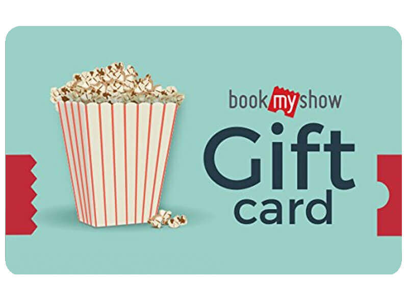 BookMyShow Gift Card Rs. 500 Onwards
