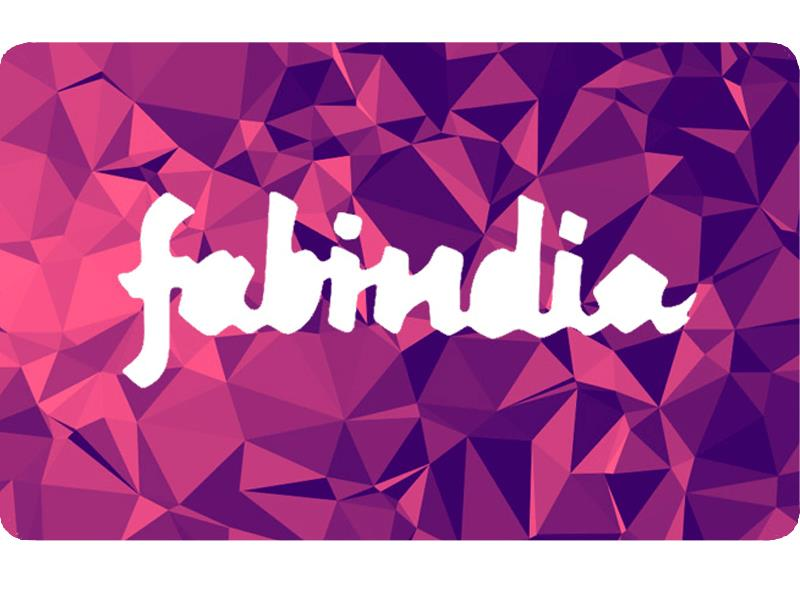 Fab India Gift Voucher Rs. 500 Onwards