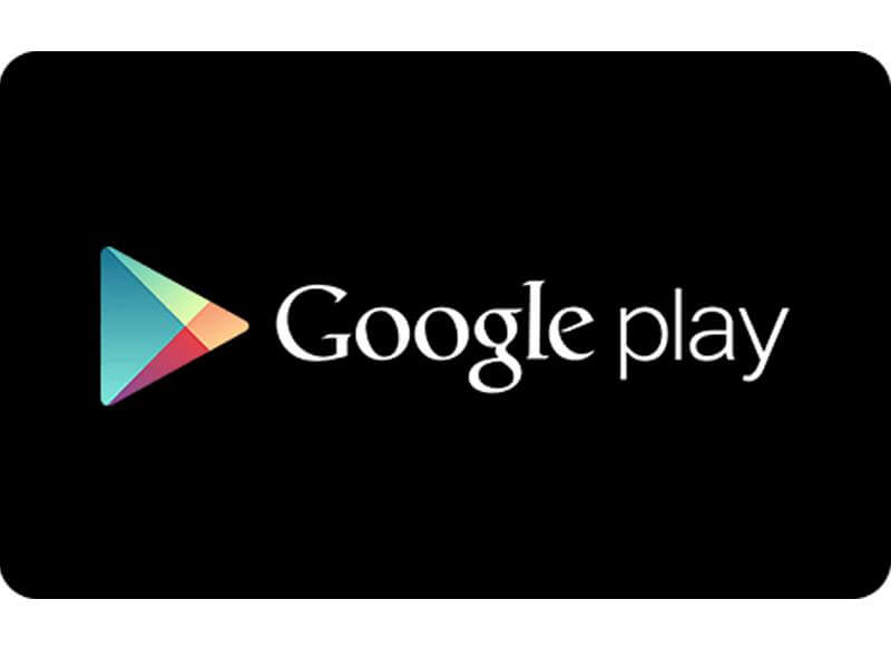 Google Play Gift Cards Rs. 750 Onwards