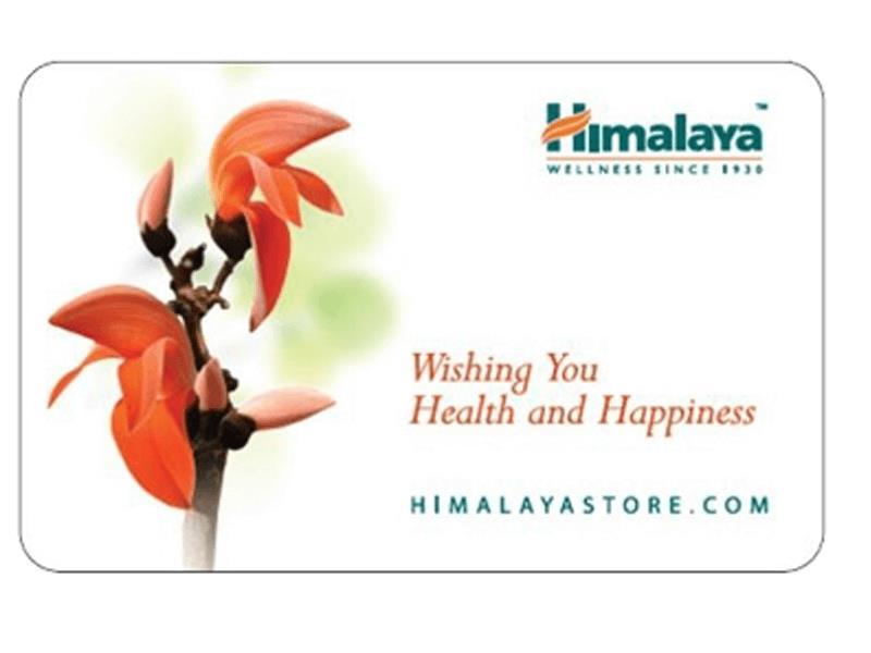 Himalaya  E-mail Gift Card For Rs. 500