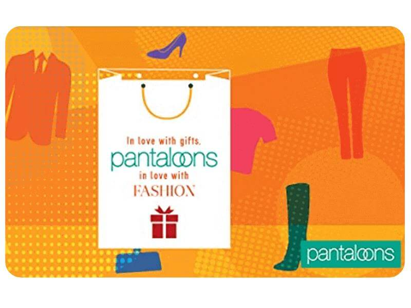 Pantaloons Gift Voucher At Rs. 960